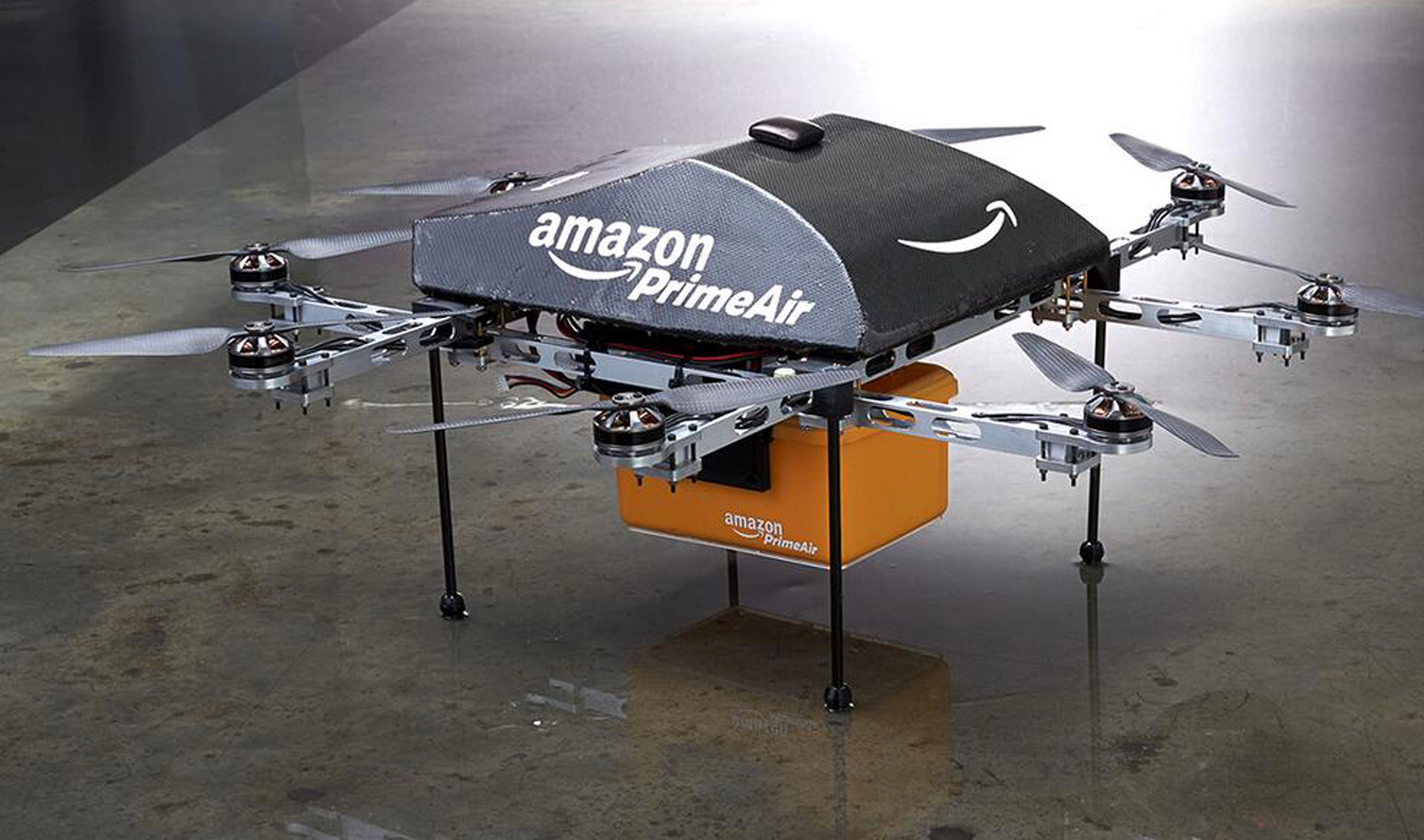 amazon Drone PAris
