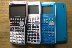 illustration Nouvelles calculatrices Casio, mode examen